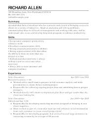 Example Of Retail Resume Sample For