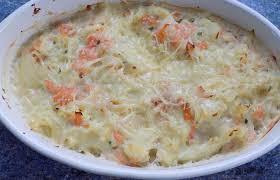 cuisiner le chou fleur gratin de chou fleur saumon fumé recette dukan pl par fanie37