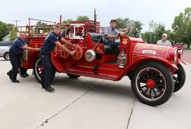 First Motorized Fire Engine Returns To Hays - News - The Hays Daily ... Lot 66l 1927 Reo Speed Wagon Fire Truck T6w99483 Vanderbrink 53reospeedwagonjpg 35362182 Moving Vans Pinterest File28 Speedwagon Journes Des Pompiers Laval 14 1948 Fire Truck Excellent Cdition Transpress Nz 1930 Seagrave Pumper Ca68b 1923 Barn Find Engine Survivor Rare 1917 Express Proxibid Apparatus Fanwood Volunteer Department Hays First Motorized Engine The 1921 Youtube Early 20s Firetruck Still In Service Classiccars Reo Boyer Hyman Ltd Classic Cars Speedwagon Hose Mutual Aid Dist 3 Flickr