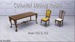 Mod The Sims - Colonial Dining Room From TS2 & TS3 British Colonial Style Patio Outdoor Ding American Fniture 16201730 The Sevehcentury And More Click Shabby Chic Ding Room Table Farmhouse From Khmer To Showcasing Rural Cambodia Styles At Chairs Uhuru Fniture Colctibles Sold 13751 Shaker Maple Set Hardinge In Queen Anne Style Fniture Wikipedia Daniel Romualdez Makes Fantasy Reality This 1920s Spanish Neutral Patio With Angloindian Teakwood Console Outdoor In A Classic British Colonial