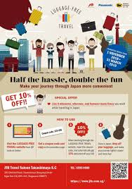 Luggage-Free Travel - JTB Singapore 25 Off Cookies By Design Coupons Promo Discount Codes Attitude Brand High Quality Fashion Accsories How To Set Up For An Event Eventbrite Help Center Walnut Paleo Glutenfree Coupon Elmastudio 18 Wordpress Coupon Plugins To Boost Sales On Your Ecommerce Store Get Pycharm At 30 Off All Proceeds Go Python Free Shipping On These Gift Baskets More Use Code Fs365 Qvc Dec 2018 Coupons Baby Wipes Specials 15 Bosom Wethriftcom