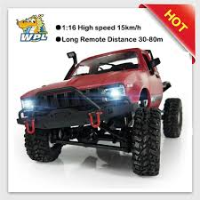100 Racing Trucks 2018 New WPL C14 116 2ch 4wd Children RC Truck 24G Off