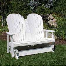 furniture modern brown porch swing glider design ideas