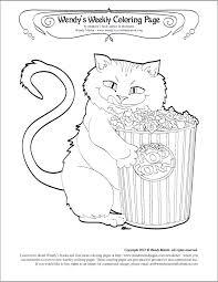 Popcorn Kitty By Wendy Martin
