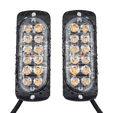 Justech 2 X 12 LED Emergency Warning Lights Amber Orange Front ... Light Bars Auto Accsories The Home Depot 4 Led Strobe Lights Car Truck Emergency Flash Waterproof Led For Trucks Best Of 1w Solar Powered 24 7 6 Beacon Medium Rectangular High Power Elite Ford Offers 700 Msrp Factory On Every 2016 Fseries 2pcs Quality Strobe Surface Mount Amber Visor Warning 20 Photo New Cars And Installed 2015 Silverado Hd Or 2014 1500 Xyivyg Red 54 Hazard Vehicle Police Grill Trucklite Super 60 Integral Kit 60120y