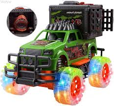100 Shunting Trucks Amazoncom WolVol OffRoad SUV Jungle Dinosaur Car Toy With Lights