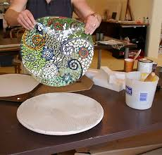 Thinset For Glass Mosaic Tile by Indirect Method Different Method For Pre Making Mosaics Designs
