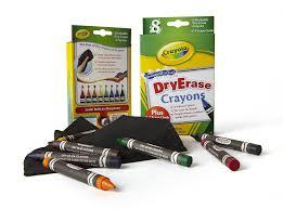 Crayola Bathtub Crayons Walmart by Amazon Com Crayola Dry Erase Crayons 8 Count Toys U0026 Games