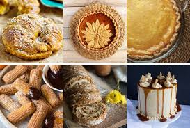 Best Pumpkin Desserts 2017 by The Great Big List Of Pumpkin Desserts U2022 Sarahs Bake Studio