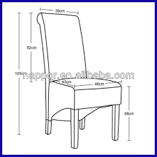 Standard Dining Room Chair Height Dimensions Metric Concept