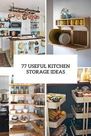Kitchen Storage Ideas Pictures 77 Useful Kitchen Storage Ideas Digsdigs