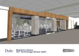 multimedia lab moves to bostock library duke today