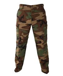 camo bdu pants military army cargo fatigue camouflagetrousers