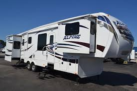 Fifth Wheel Campers With Front Living Rooms by New 2012 Keystone Rv Alpine 3495fl Front Living Room Fifth Wheel
