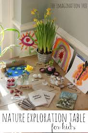 Toddler Art Desk Uk by Nature Exploration Table The Imagination Tree