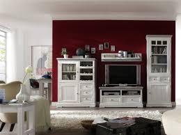 dreams4home wohnwand massiv juno in antik weiß wohnzimmer kommode tv schrank fernsehschrank massivholz