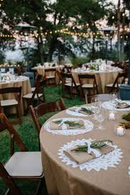 Love This For A Country Or Rustic WeddingI Would Use Grey Table Cloths With The White Place Settings And Yellow Decor