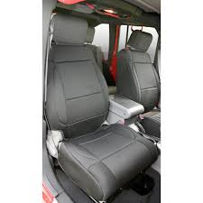 Rugged Ridge 13214.01 Neoprene Front Seat Covers, Black, 07-10 Jeep ...