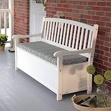 Amazon Leisure Season SB6024 Bench with Storage Garden