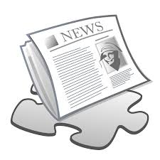Newspaper Template Png Clip Freeuse
