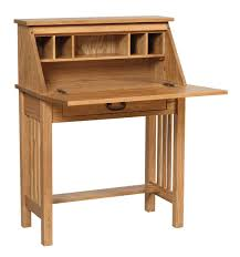 mission home office wood secretary desk woodworking projects