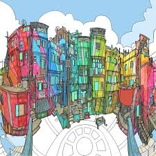 Exquisite Adult Coloring Book Offers A Relaxing And Creative Way To Explore The World