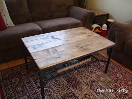 Lack Sofa Table Hack by The Far Fifty Coffee Table Ikea Hack