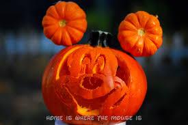 Mickey Mouse Halloween Stencil by 13 Disney Nights Of Halloween 12 Disney Pumpkins Adventures