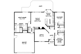 3 Bedroom Ranch Floor Plans Colors Ranch House Plans Bingsly 30 532 Associated Designs
