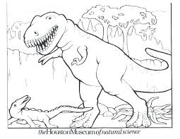 Drawing Dinosaur Picture To Color For Your Dinosaurs Coloring Pictures Print Free Pages Full Size