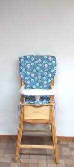 Wooden High Chair Pad, Eddie Bauer Cotton Replacement ... Fniture Bar Stool Seats Only Replacement Seat Wood Chairs High Chair Cushion For Wooden Cushions Wipe Clean Oilcloth Midnight Blue Mocka Original Highchair Keekaroo Height Right Kids Age 3 Years And Up To A 250 Lbs High Chairs Hedstrom Vintage Convertible Pads Chair Pad Paisley On Sage Eddie Bauer Baby Accessory Replacement Nursery Decor Feeding For Jenny Lind Decoration Brown Faux Leather Back Ding Black Smitten Baby Swing It Restaurant Cover
