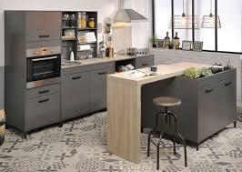 küche komplett küchenzeile schrank tresen usb anschluss eiche hell grau neu
