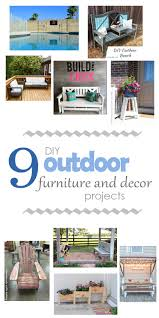 Photos And Inspiration Out Building Designs by Check Out This Awesome Roundup Of Diy Outdoor Furniture And Decor