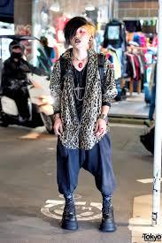 dark harajuku style w piercings demonia boots u0026 brain necklace