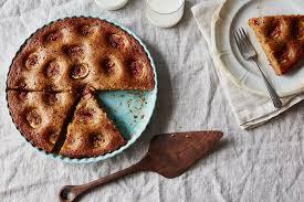 Lemony Hazelnut Cake With Fall Fruit Cardamom