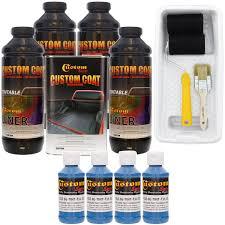 100 Roll On Truck Bed Liner CUSTOM COAT REFLEX BLUE 4L Urethane Spray Kit W