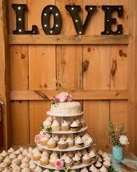 Rustic Wedding Reception Dessert Cupcakes Great Idea For A Barn BKB CO