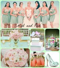 Summer Wedding Color Trends Pink And Mint Springville Alabama