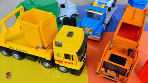100 Garbage Truck Videos For Children L Learning Colors On Com Battat