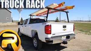 How To Install TracRac TracONE Truck Racks - YouTube