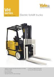 100 Vh Trucks VH Series Electric Counterbalanced Forklift Truck