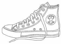 Converse Shoe Color Page
