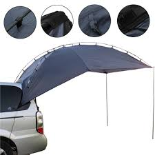 IPRee 3-4 People Outdoor SUV Shelter Truck Car Tent Trailer Awning ...