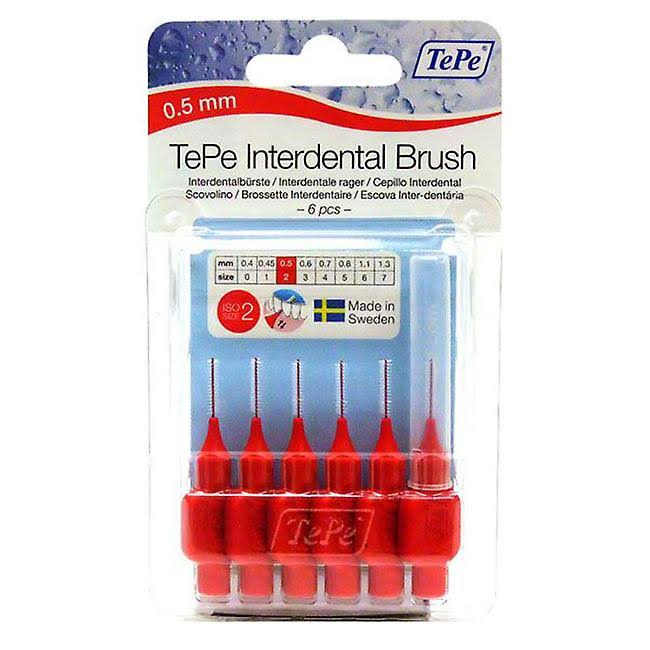 Tepe Interdental Brush - Size 2, x6