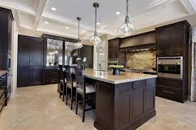 Kitchens With Dark Cabinets And Light Countertops by Dark Kitchen Cabinets With Light Walls Home Design Ideas
