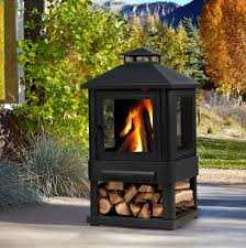 Portable Outdoor Wood Burning Fireplace