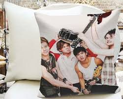 Five Second Of Summer Anarchy Decorative Throw By Kyleclient