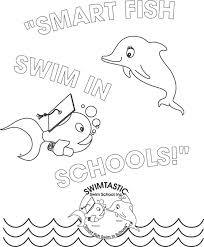 Water Safety Coloring Page