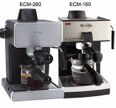 Steam Espresso And Cappuccino Maker ECM160 Or ECM260