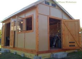 custom design shed plans 12x16 medium saltbox easy to follow